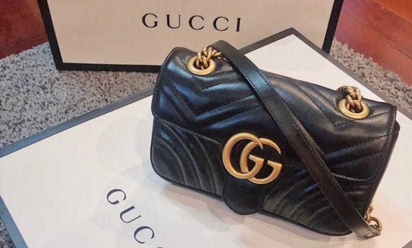 一包五背 入门级奢侈品 小可爱Gucci marment
