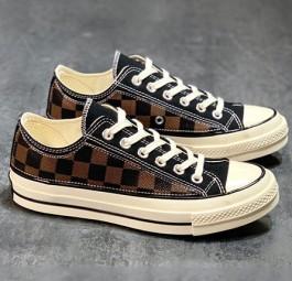 LV路易威登xConverse匡威1970s联名经典低帮帆布鞋