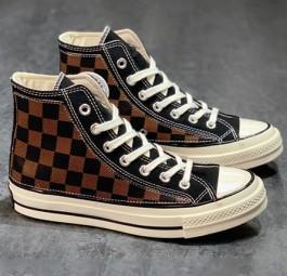 LV路易威登xConverse匡威1970s联名经典高帮帆布鞋