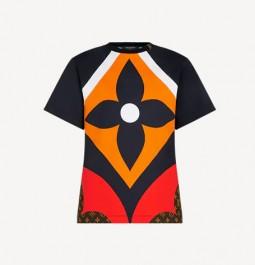 LV路易威登2021早春Game on系列花卉印花短袖T恤