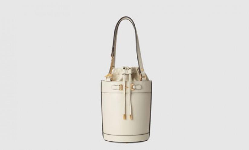 高仿Gucci包包 高仿古驰a货包包 马衔扣1955系列小号水桶包