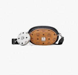 高仿MCM包包 MCM高仿a货包 多功能三合一斜挎包腰包