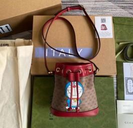 高仿GUCCI包包 古驰哆啦A梦联名系列a货包 相机包 水桶包 圆饼包