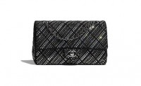Chanel高仿包包 香奈儿a货包包 香奈儿21年新款经典水钻链条口盖包