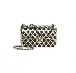 Chanel高仿包包 香奈儿a货包包 香奈儿2021新款金属框包可分离晚宴包