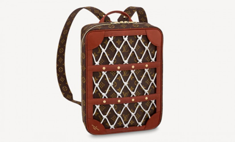 LV高仿包包 路易威登a货包包 LV联名NBA SHOE BOX 手提双肩两用包