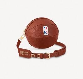 LV高仿包包 路易威登a货包包 LV联名NBA系列篮球形状设计包包