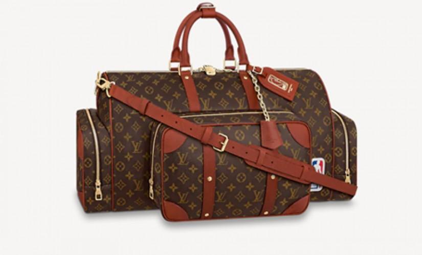 LV高仿包包 路易威登a货包包 LV联名NBA Keepall Trio Pocket 两包合一旅行袋