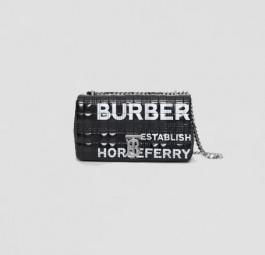 Burberry高仿包包 巴宝莉a货包包 Horseferry印花Lola萝纳包