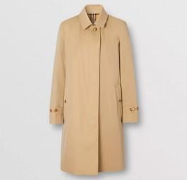 Burberry高仿大衣 巴宝莉a货大衣 Heritage系列皮姆利科轻便款Trench风衣