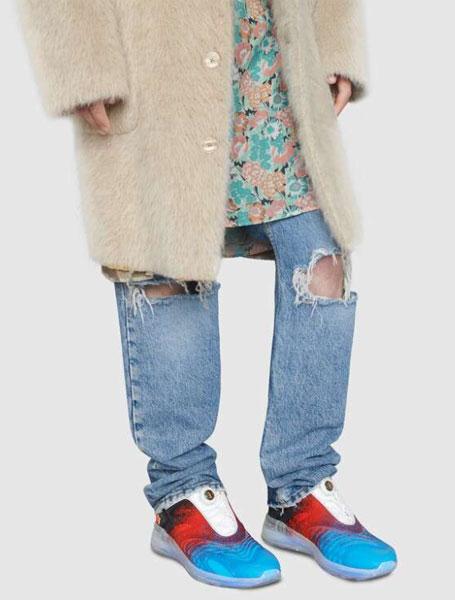 Gucci古驰2020秋冬系列Ultrapace R系列彩色男士运动鞋