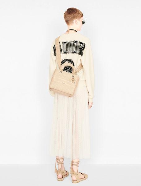 Dior迪奥仙女百褶裙白色小花薄洋纱