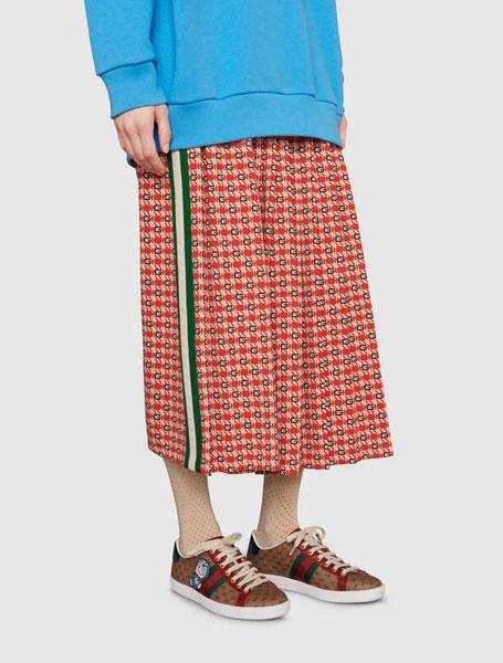 Gucci高仿a货鞋 Doraemon x Gucci/哆啦A梦x古驰联名Ace女士运动鞋