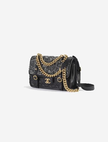 Chanel高仿包包 香奈儿a货包包 新款复古牛皮链条口盖包