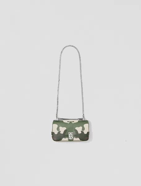 Burberry高仿包包 巴宝莉a货包包 迷彩印花Lola萝纳包
