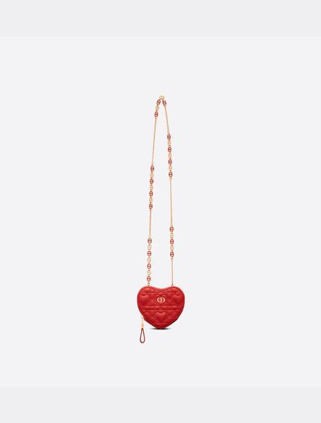 Dior高仿包包 迪奥a货包包 七夕Dioramour限定系列Dior Caro心形链条包