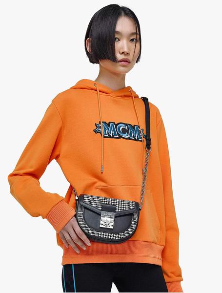 MCM高仿包包 MCM高仿a货包包 Patricia格纹马鞍腰包