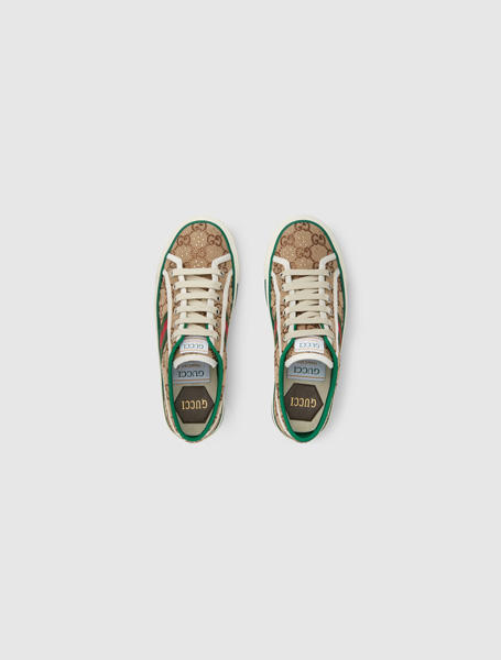 Gucci高仿a货鞋 Gucci 100特别系列Tennis 1977女士运动鞋